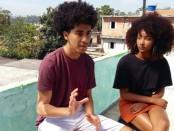 Wellison Freire e Jennifer Andrade